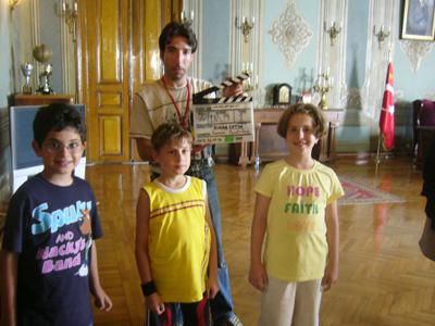 "Sinan Çetin'in Son Filmi ""Başbakanım"" Film Seti [4]"